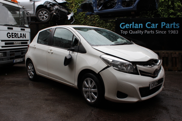 Toyota Yaris Seat Belt Rear Drivers Side -  - Toyota Yaris 2012 Petrol 1.3L Code 1NR Manual 6 Speed 5 Door