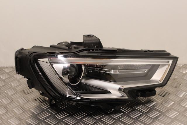 Audi A3 Headlamp Drivers Side -  - Audi A3 2017 Diesel 2.0L 2012--Present Manual 6 Speed 5 Door 17 Inch Wheels.Eng Code CRL