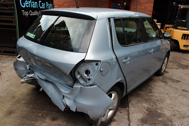 Skoda Fabia Door Check Strap Front Passengers Side -  - Skoda Fabia 2011 Petrol 1.2L 2007--2014 Manual 5 Speed 5 Door Electric Mirrors, Electric Windows Front, Alloy Wheels 15 inch, Grey Eng Code CBZ.
