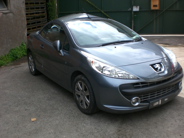 Peugeot 207cc Coupe Windscreen Panel -  - Peugeot 207cc Coupe 2008 Petrol 1.6L 2006 - 2012 Manual 5 Speed 3 Door Electric Mirrors, Electric Windows Front & Rear, Grey