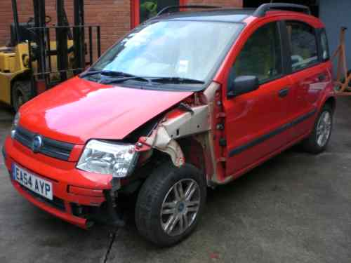 Fiat Panda Steering Shaft with Motor -  - Fiat Panda 2004 Petrol 1.2L Manual 5 Speed 5 Door Alloy Wheels 14 inch, Red