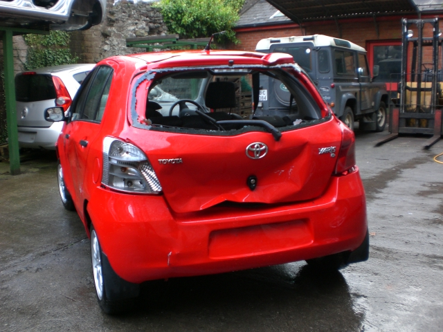 Toyota Yaris Door Check Strap Front Passengers Side -  - Toyota Yaris 2007 Petrol 1.0L Manual 5 Speed 5 Door Electric Mirrors, Electric Windows Front, Red