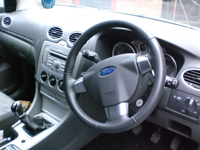 Ford Focus Door Handle Inner Rear Passengers Side -  - Ford Focus 2009 Diesel 1.8L 2005--2011 Manual 5 Speed 5 Door Electric Mirrors, Electric Windows