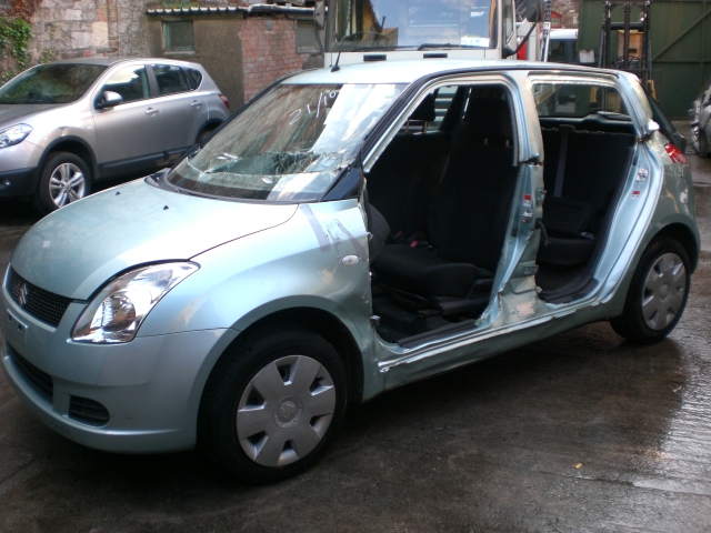 Suzuki Swift Door Mirror Passengers Side -  - Suzuki Swift 2007 Petrol 1.3L Manual 5 Speed 5 Door Electric Mirrors, Electric Windows Front, No ABS, Light Green