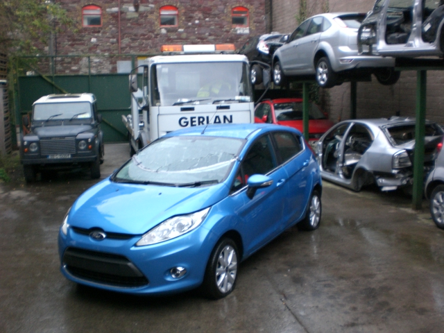 Ford Fiesta Brake Servo -  - Ford Fiesta 2010 Petrol 1.3L Manual 5 Speed 5 Door Electric Mirrors, Electric Windows Front, 15 inch Alloy Wheels, Blue
