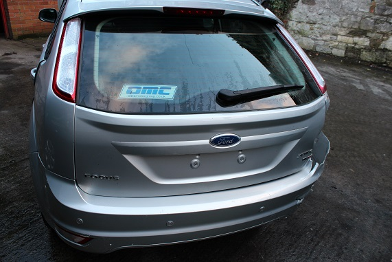 Ford Focus Door Handle Outer Rear Drivers Side -  - Ford Focus 2010 Diesel 1.6L Manual 5 Speed 5 Door Electric Mirrors, Electric Windows Front, Alloy Wheels, Silver