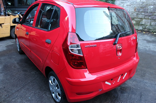 Hyundai i10 Window Regulator Front Drivers Side -  - Hyundai i10 2012 Petrol 1.2L 2007--2013 Manual 5 Speed 5 Door Manual Mirrors, Electric windows Front, Manual Windows Rear, Alloy Wheels 14 inch, Red Engine Code G4LA