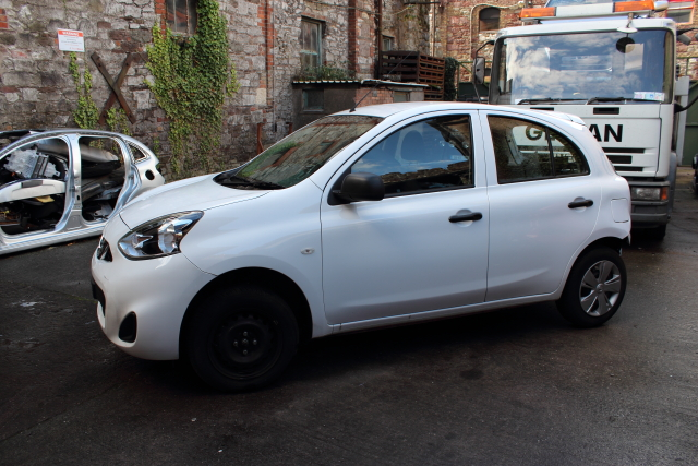 Nissan Micra Bonnet Stay -  - Nissan Micra 2014 Petrol 1.2L 2011-2016 Manual 5 Speed 5 Door Elt Windows Front Manual Mirrors 14 Inch Wheels Eng Code HR12