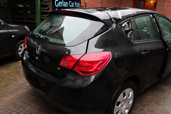 Opel Astra Door Card Front Drivers Side -  - Opel Astra 2012 Petrol 1.6L 2009 - 2015 Manual 5 Speed 5 Door Electric Mirrors, Electric Windows Front, Black Eng Code XER