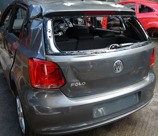 Volkswagen Polo Door Card Front Passengers Side -  - Volkswagen Polo 2011 Petrol 1.2L Code: CGP Manual 5 Speed 5 Door Electric Mirrors, Electric Windows Front & Rear, Alloy Wheels 15 inch