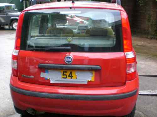 Fiat Panda Door Check Strap Front Drivers Side -  - Fiat Panda 2004 Petrol 1.2L Manual 5 Speed 5 Door Alloy Wheels 14 inch, Red