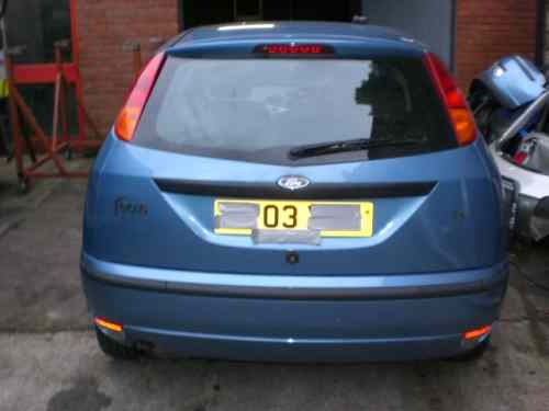 Ford Focus Door Lock Barrel with Key Front Passengers Side -  - Ford Focus 2003 Petrol 1.6L Manual 5 Speed 5 Door Hatchback, Blue