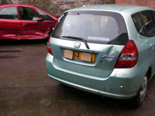Honda Jazz Wiper Motor Front -  - Honda Jazz 2003 Petrol 1.4L Manual 5 Speed 5 Door Electric Mirrors, Electric Windows Front & Rear, Silver