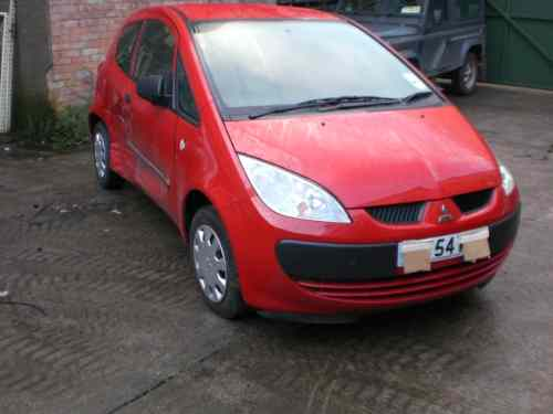 Mitsubishi Colt Heater Control Switch -  - Mitsubishi Colt 2004 Petrol 1.1L Manual 5 Speed 3 Door Electric Mirrors, Electric Windows Front, Wheels 14 inch, Red