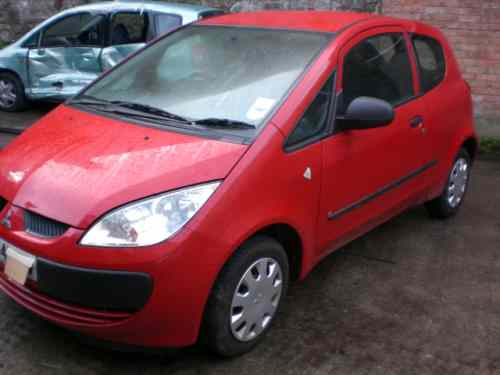 Mitsubishi Colt Bonnet Lock Catch -  - Mitsubishi Colt 2004 Petrol 1.1L Manual 5 Speed 3 Door Electric Mirrors, Electric Windows Front, Wheels 14 inch, Red