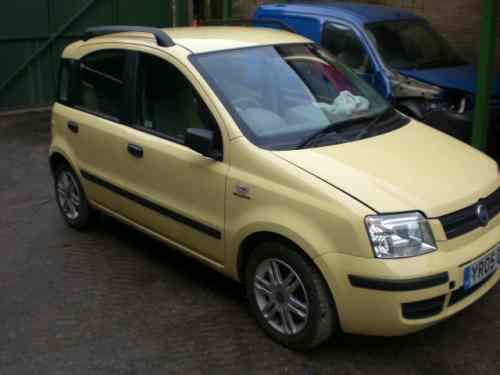 Fiat Panda Door Front Drivers Side -  - Fiat Panda 2005 Petrol 1.2L Manual 5 Speed 5 Door Electric Mirrors, Electric Windows Front, Alloy Wheels 14 inch, Yellow