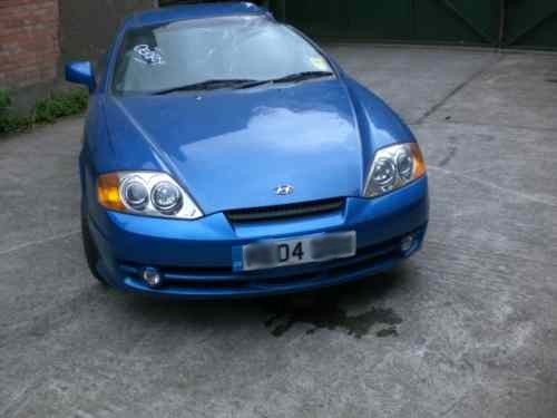 Hyundai Coupe Door Lock Barrel with Key Front Passengers Side -  - Hyundai Coupe 2004 Petrol 1.6L Manual 5 Speed 3 Door Electric Mirrors, Electric Windows Front, Alloy Wheels 16 inch, Blue