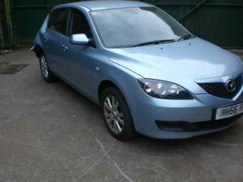 Mazda Mazda3 Heater Control Switch -  - Mazda Mazda3 2006 Petrol 1.4L Manual 5 Speed 5 Door Electric Mirrors, Allloy Wheels 16 inch, Light Blue