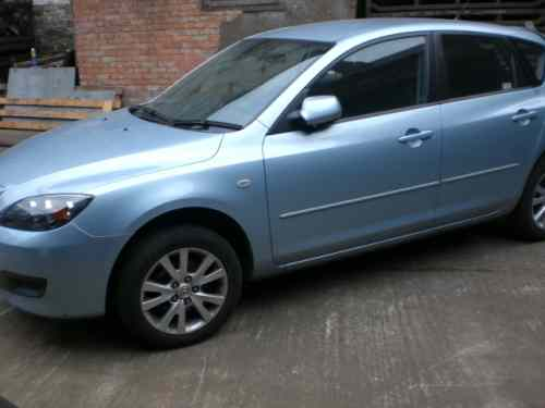 Mazda Mazda3 Door Handle Outer Front Drivers Side -  - Mazda Mazda3 2006 Petrol 1.4L Manual 5 Speed 5 Door Electric Mirrors, Allloy Wheels 16 inch, Light Blue