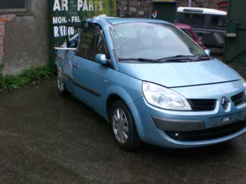Renault Scenic Steering Shaft with Motor -  - Renault Scenic 2007 Diesel 1.5L Manual 5 Speed 5 Door Electric Mirrors, Electric Windows Front & Rear, Alloy Wheels 16 inch, Light Blue