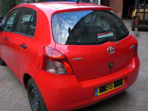 Toyota Yaris Bonnet Lock Catch -  - Toyota Yaris 2006 Petrol 1.0L Manual 5 Speed 5 Door Electric Mirrors, Electric Windows Front, Red