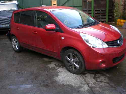 Nissan Note Bonnet Lock Catch -  - Nissan Note 2010 Petrol 1.6L 2004-2013 Automatic 5 Door Electric Mirrors, Electric Windows Front & Rear, Alloy Wheels 16 inch Engine Code HR16
