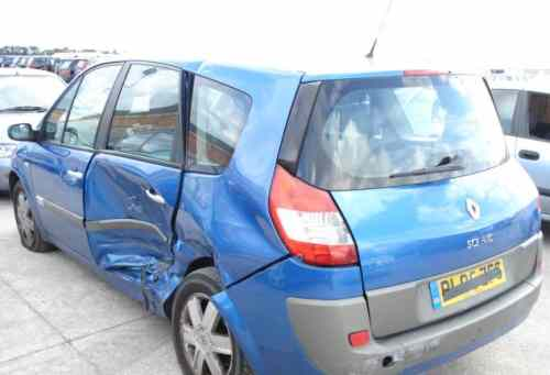 Renault Scenic Bonnet -  - Renault Scenic 2005 Petrol 1.6L Manual 5 Speed 5 Door Electric Mirrors, Electric Windows Front & Rear, Wheels 16 inch, Bright Blue