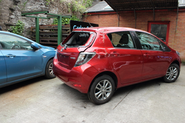 Toyota Yaris Bonnet Stay -  - Toyota Yaris 2014 Petrol 1.0L Manual 5 Speed 5 Door 15 Inch wheels Elt windows front and rear