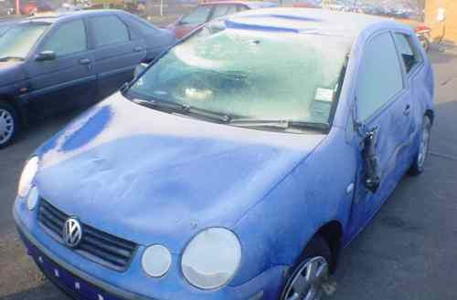 Volkswagen Polo Bonnet Lock Catch -  - Volkswagen Polo 2003 Petrol 1.2L Manual 5 Speed 3 Door Electric Mirrors, Electric Windows, Blue