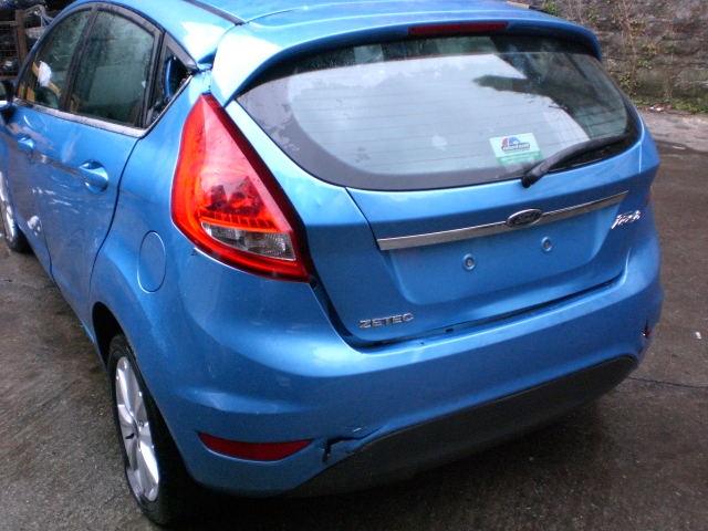 Ford Fiesta Door Handle Outer Front Drivers Side -  - Ford Fiesta 2010 Petrol 1.3L 2009--2017 Manual 5 Speed 5 Door Electric Mirrors, Electric Windows Front, 15 inch Alloy Wheels, Blue