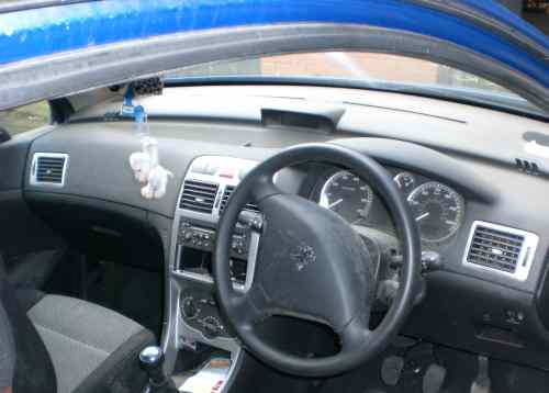 Peugeot 307 Bonnet Lock Catch -  - Peugeot 307 2004 Petrol 1.4L 16V Manual 5 Speed 3 Door Electric Windows, Blue