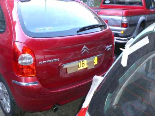 Citroen Picasso Bonnet Lock Catch -  - Citroen Picasso 2006 Petrol 2.0L (2006�2013) Automatic 5 Door Electric Mirrors, Electric Windows Front, Wheels 15 inch, Wine